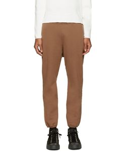 Undecorated Man | Brown Fleece Lounge Pants