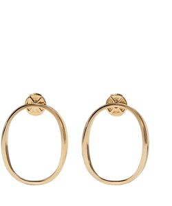 Delfina Delettrez | Gold Little Ear-Clipse Earrings