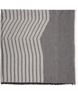 Thamanyah | And Grey Striped Dune Scarf