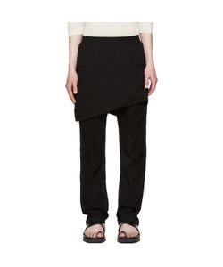 Thamanyah | Asymmetric Razor Trousers