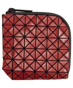 Bao Bao Issey Miyake   Red Geometric Matryoshka Zip Wallet