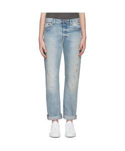 R13   Blue Classic Jeans
