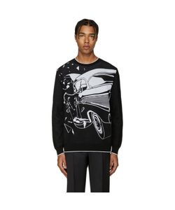 Christopher Kane | Black Car Crash Sweater