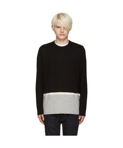 Comme Des Garçons   Shirt Black Cut-Out T-Shirt