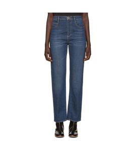 Chloé | Blue Straight-Leg Jeans
