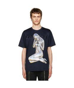 Juun.J   Navy Sorayama T-Shirt
