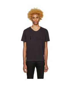 Pierre Balmain | Navy Embroidered Logo T-Shirt