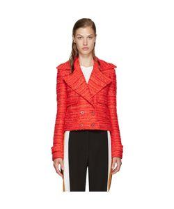 Altuzarra | Red Tweed Newport Jacket