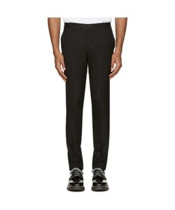 PS Paul Smith | Ps By Paul Smith Black Wool Zip Accent Trousers