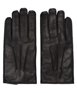 Valentino | Black Leather Gloves