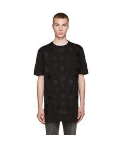 Marcelo Burlon County Of Milan   Black Peteroa T-Shirt