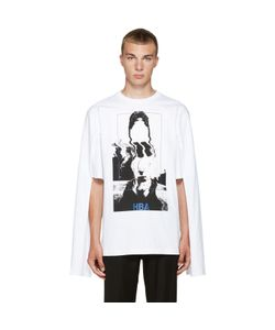Hood By Air | White Montgomery Graduation T-Shirt