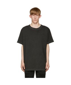 Off-White | Black Garment-Dye T-Shirt
