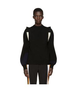 Toga | Black Wool Panelled Sweater