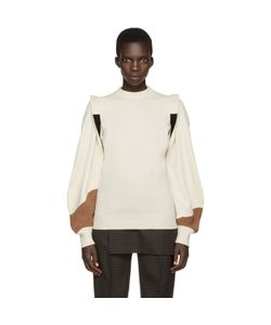 Toga | Beige Panelled Sweater