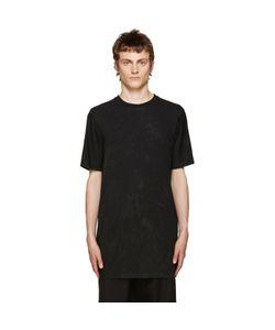 11 By Boris Bidjan Saberi | Black Basic Coated T-Shirt