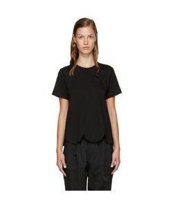 Comme Des Garçons Comme Des Garçons | Black Scalloped T-Shirt