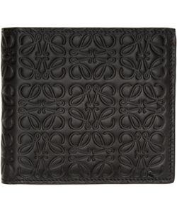 Loewe | Black Anagram Wallet