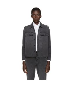 Amo | Black Military Jacket