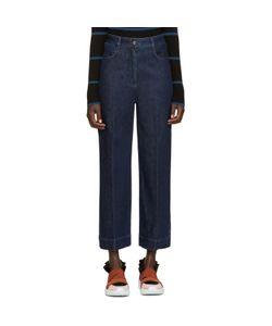 Emilio Pucci | Blue Wide-Leg Jeans