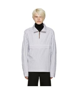 Cmmn Swdn | White Striped Ron Jacket