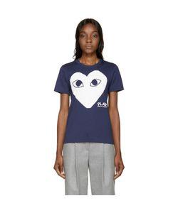 Comme Des Garçons Play   Heart T-Shirt