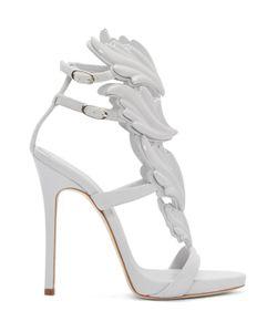 Giuseppe Zanotti | Grey Suede Cruel Sandals