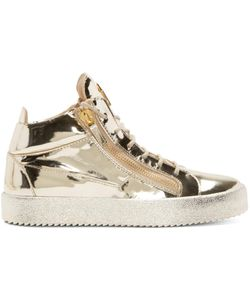 Giuseppe Zanotti | Gold High-Top Sneakers