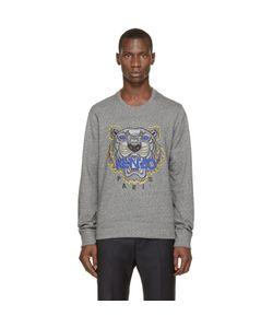 Kenzo | Grey Tiger Logo Sweatshirt