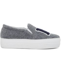 Joshua Sanders | Felt Ny Slip-On Sneakers