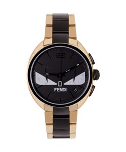 Fendi | Gold And Black Momento Bugs Watch