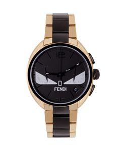 Fendi | Gold And Black Momento Bugs Watch