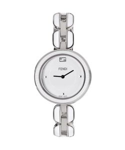 Fendi | Silver And White My Way Fur Glamy Watch