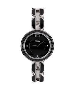 Fendi | Silver And Black My Way Fur Glamy Watch
