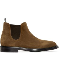 Paul Smith | Tan Suede Drummond Chelsea Boots