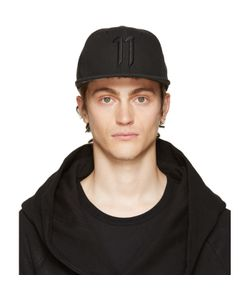 11 By Boris Bidjan Saberi | Black Logo Cap