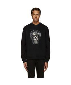 Markus Lupfer | Black Skull Logo Pullover