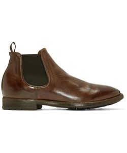 Officine Creative | Brown Princeton Chelsea Boots