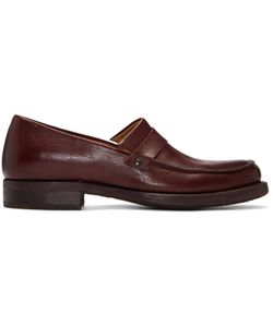 Cherevichkiotvichki | Ssense Exclusive Burgundy Black Rapid Loafers