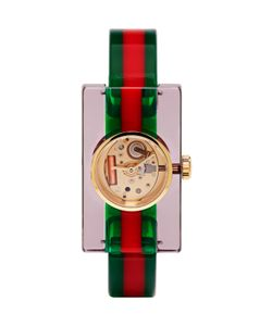 Gucci | Green And Red Vintage Web Watch