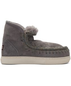Mou | Grey Mini Eskimo Boots