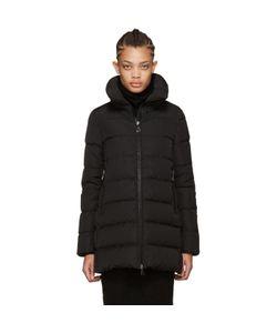 Moncler | Black Down Petrea Coat