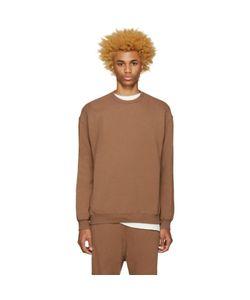 Undecorated Man | Brown Zip Sweatshirt
