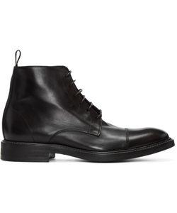 Paul Smith | Black Lace-Up Jarman Boots