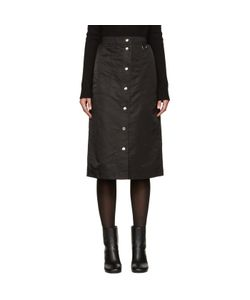 Nomia | Nylon Button Skirt