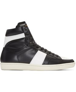 Saint Laurent | Black Sl-10 Court Classic Sneakers