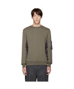 Tim Coppens   Green French Terry Pullover