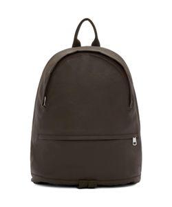 A.P.C. | Brown Coated Stefan Backpack