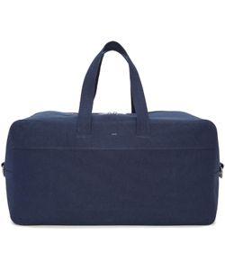 A.P.C.   Navy Canvas Xavier Duffle Bag