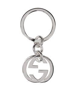 Gucci | Silver Monogram Keychain